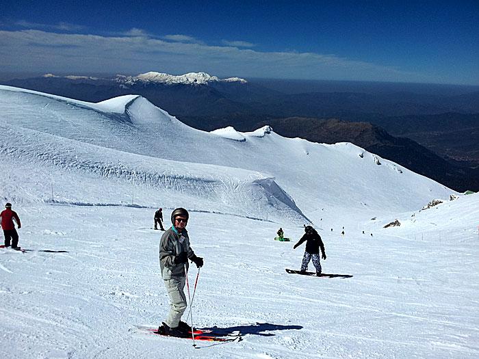 Skidor grekland